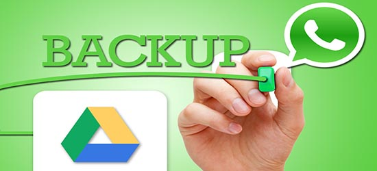 whatsapp google drive back up
