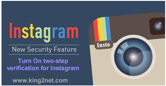 two-step verification for Instagram