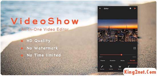 videoshow lite video editor apk