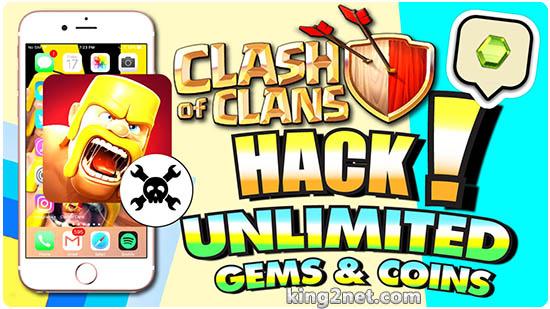 دانلود رایگان جدیدترین نسخه هک و بی نهایت Clash of Clans برای آیفون + اندروید